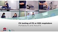 Overview Fit testing of P2 or N95 respirators