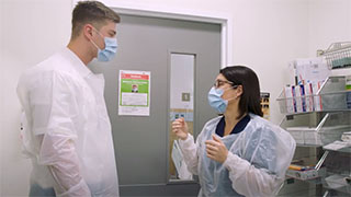 Droplet Precautions - Donning PPE